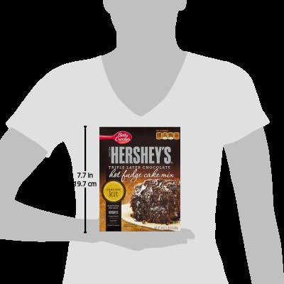Hershey S Triple Layer Chocolate Hot Fudge Cake Mix