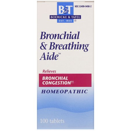 Drugs Bronchial Asthma (Boericke & Tafel Bronchial & Breathing Aide 100)