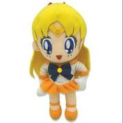"Plush - Sailor Moon - Venus Chibi Soft Doll 8"" Toys Anime New ge87509"