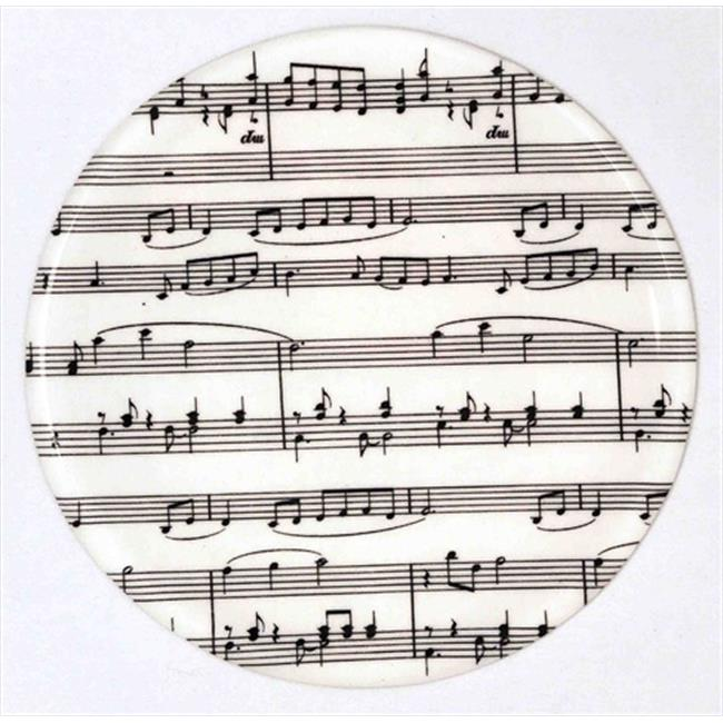 Andreas TR-143 Musical Notes Silicone Trivet - Pack of 3