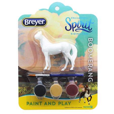 - Breyer Spirit Riding Free Boomerang Paint and Play Kit