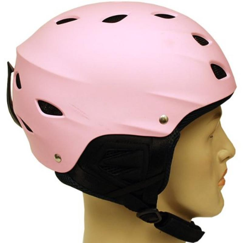 New WOW Snowboard Ski Sports Snow Helmets Youth & Adult Size Matt Pink by