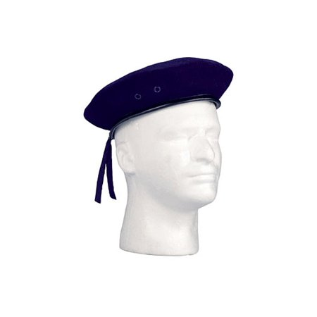 Navy Blue Ultra Force G.I. Style Wool (Blue Wool Beret)