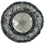 Expo Int'l Round Beaded Medallion Applique