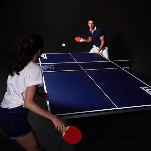 ESPN 4 Piece Table Tennis Table Image 2 Of 9