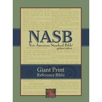 Giant Print Reference Bible-NASB (Other)(Large Print)