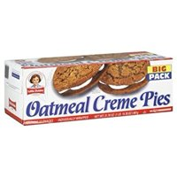Little Debbie Oatmeal Big Pack Creme Pies, 31.78 Oz (Pack of 2)