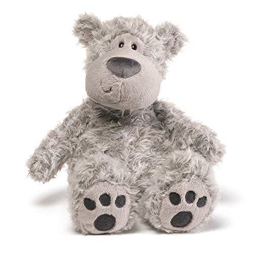 Gund Slouchers Teddy Bear Stuffed Animal, Grey by Gund