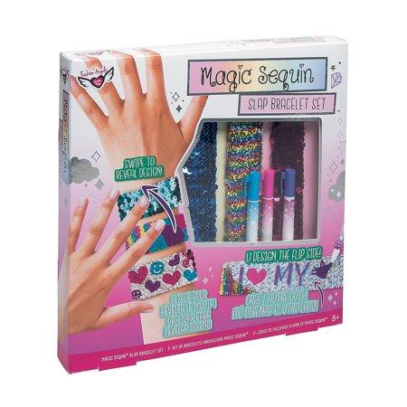 Fashion Angels Magic Sequin Slap Bracelet Kit (Slap Braclet)
