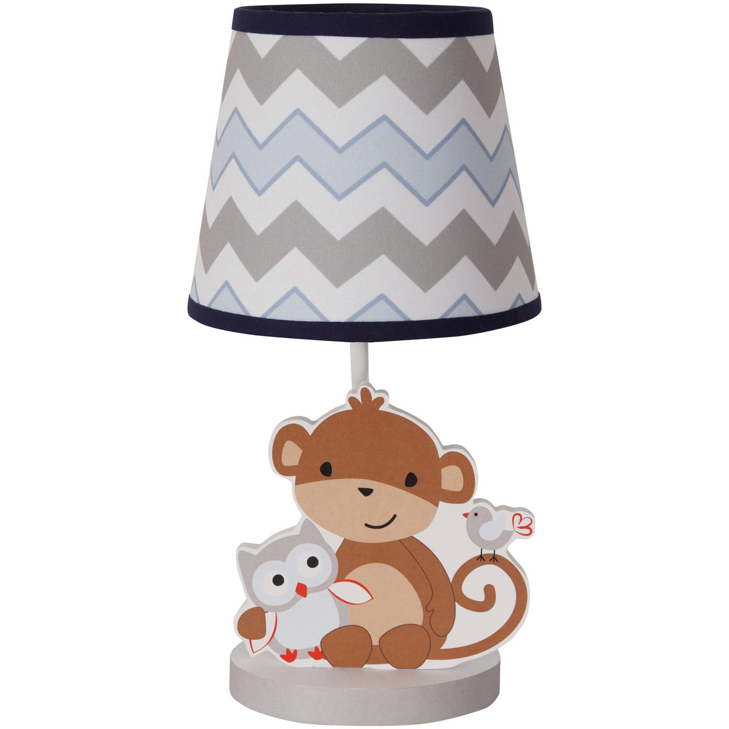Bedtime Originals Mod Monkey Collection Lamp with Shade and Bulb by Bedtime Originals