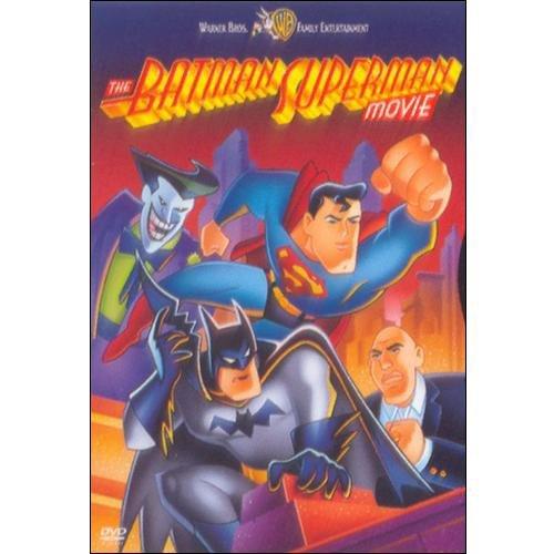 The Batman Superman Movie (DVD + Digital Comic) (Walmart Exclusive)