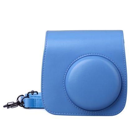 EEEKit Camera Case for Fujifilm ini 8 8+9, PU Shoulder Carrying Bag Cover, Classic Vintage Leather Compact Cam Case Bag for Fujifilm Instax Mini 8/8+/9 Instant Film (Best Ctm Bags)