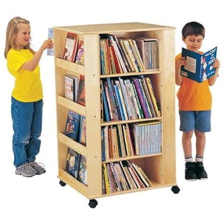 Jonti Craft Thriftykydz Multimedia Book Cart