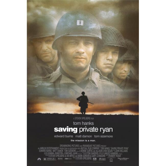 wall art poster Saving Private Ryan print Movie gift prints posters