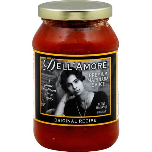 Dell'Amore Original Premium Marinara Sauce, 16 oz, (Pack of 12)