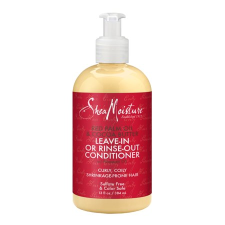 SheaMoisture Red Palm Oil & Cocoa Butter Leave-In or Rinse-Out Conditioner,13