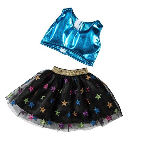 Clothes Skirt For 18 Inch American Boy Doll Accessory Girl Toy Clothing Set