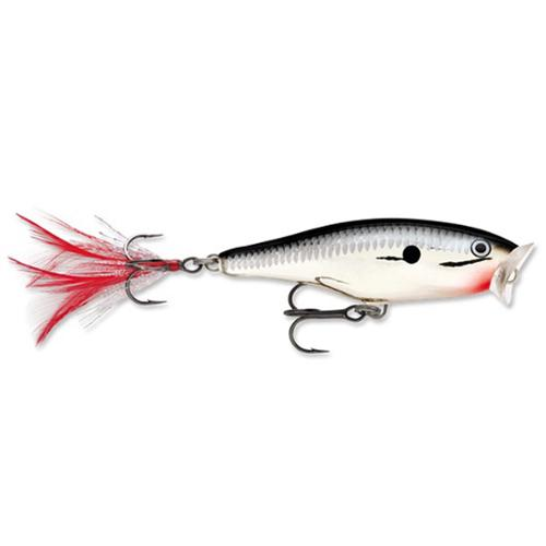 Rapala Skitter Pop 09 Fishing Lure Chrome by Rapala