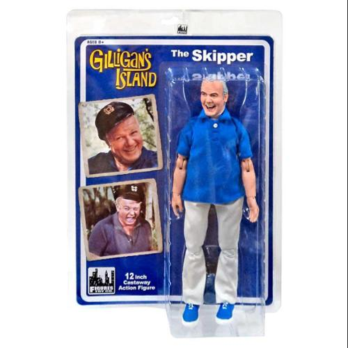 Gilligan's Island 12 Inch Action Figures Series 1: Skipper