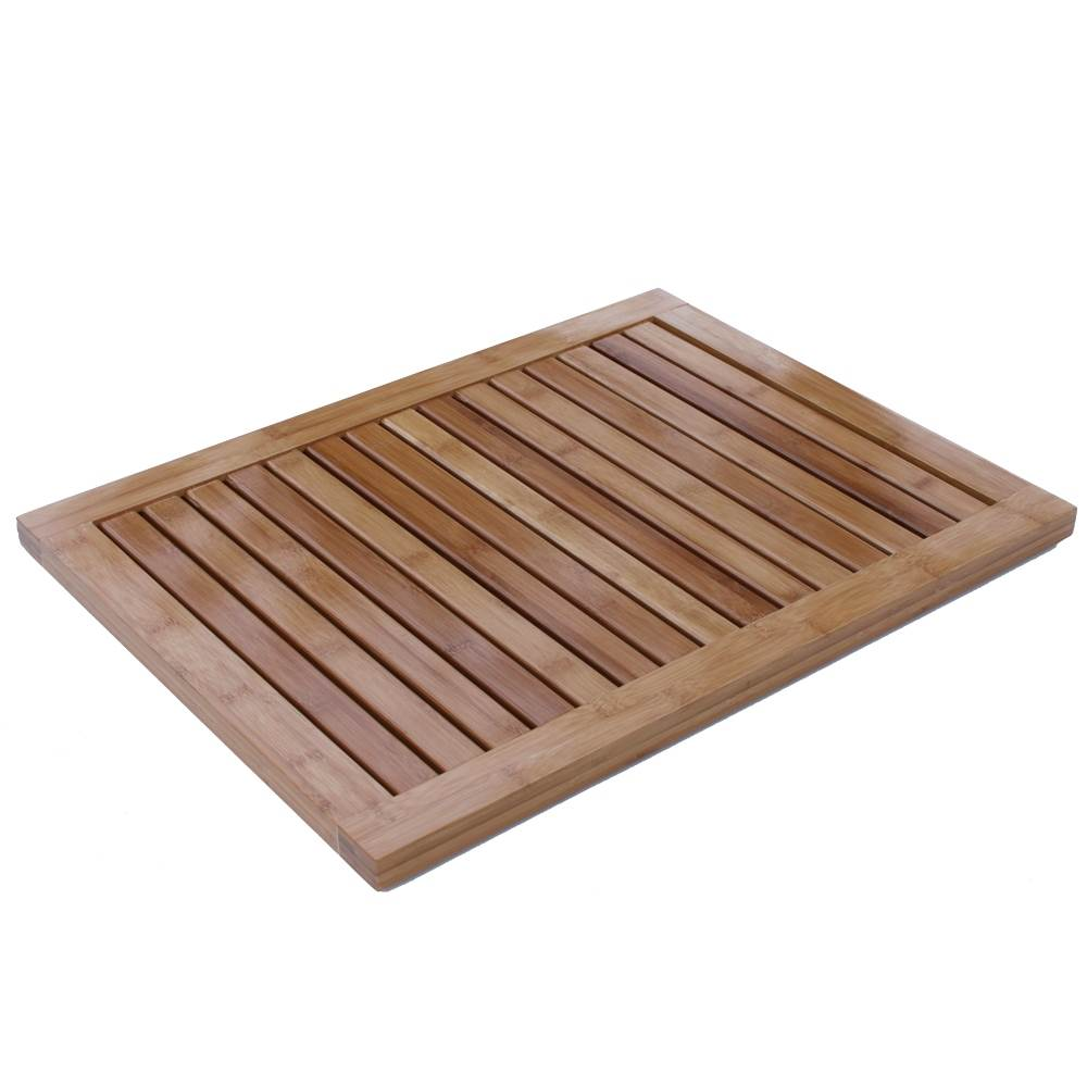 Oceanstar Bamboo Floor And Shower Mat Fm 1163