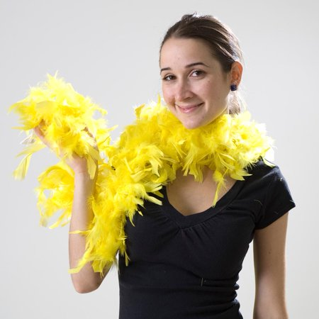 Yellow Feather Boa - Boa Feather