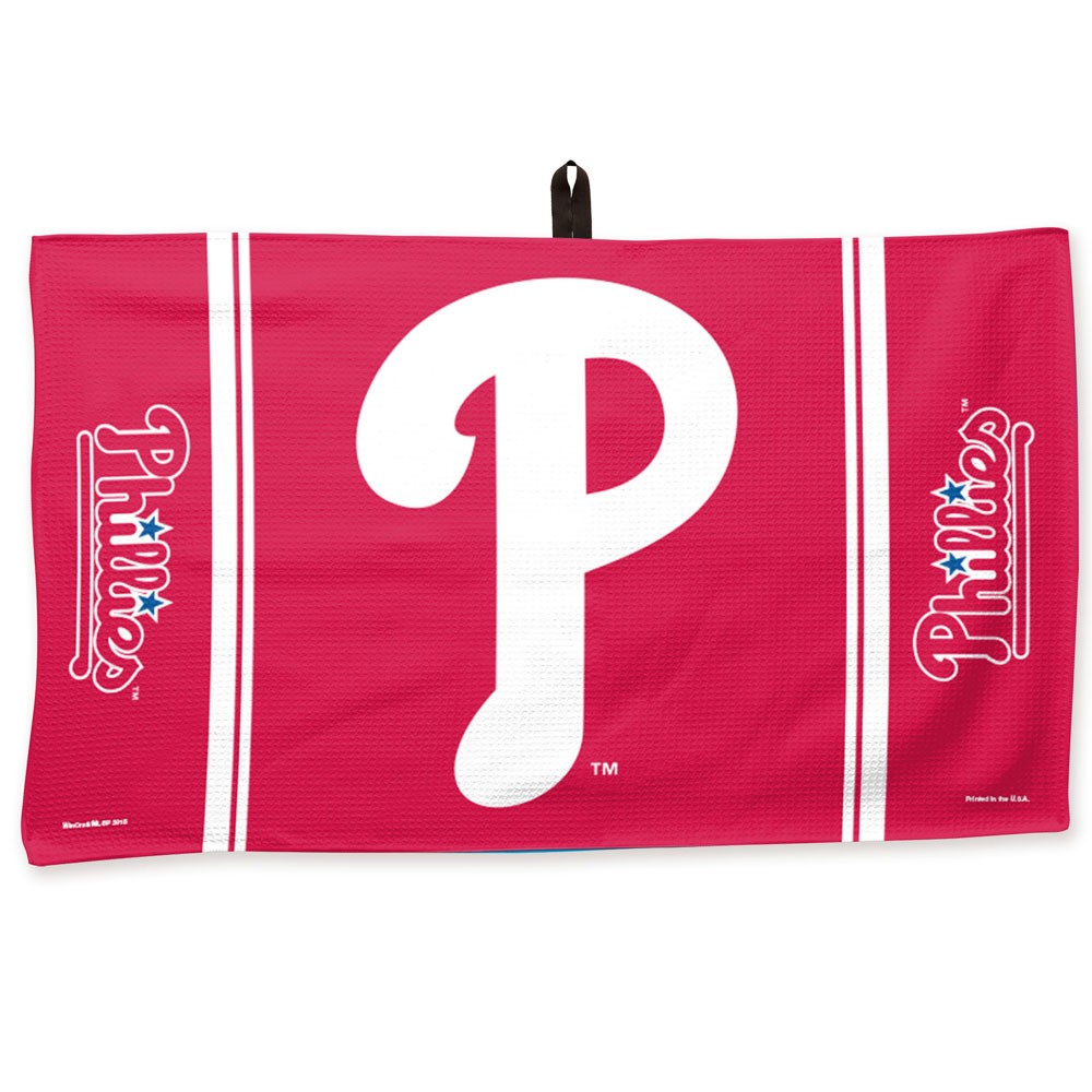 "Philadelphia Phillies WinCraft 14"" x 24"" Waffle Towel - No Size"