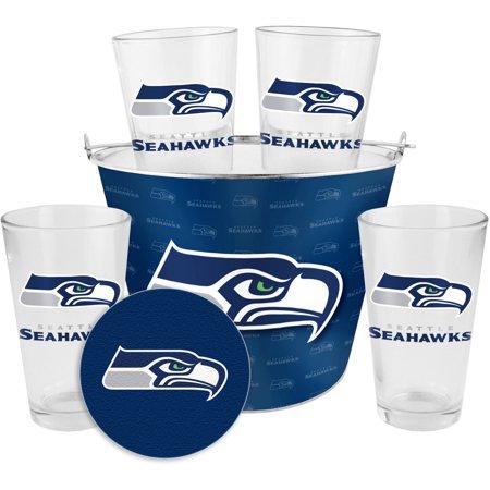 Boelter Brands NFL Gift Bucket Set, Seattle Seahawks by