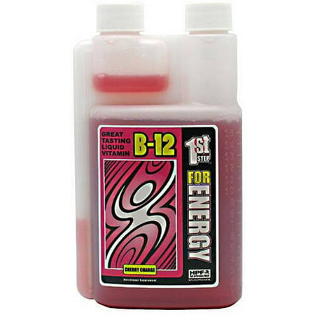 Image of 1st Step for Energy B12, Cherry Charge, 16 Fl oz