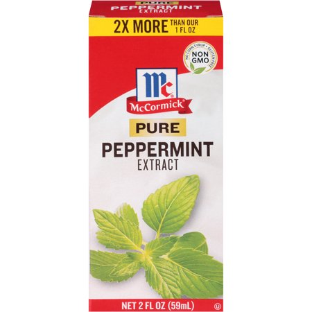 (2 Pack) McCormick Pure Peppermint Extract, 2 fl oz