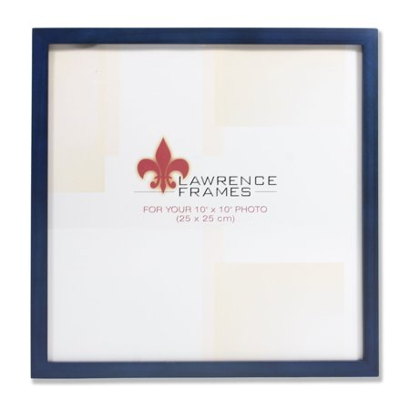 755710 Blue Wood 10x10 Picture Frame