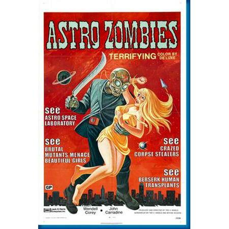 Halloween Rob Zombie Movie Poster (Astro Zombies Movie Poster)