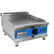 "UniWorld 20"" Stainless Steel Natural Gas Griddle Kitchen Restaurant UGR-G20"