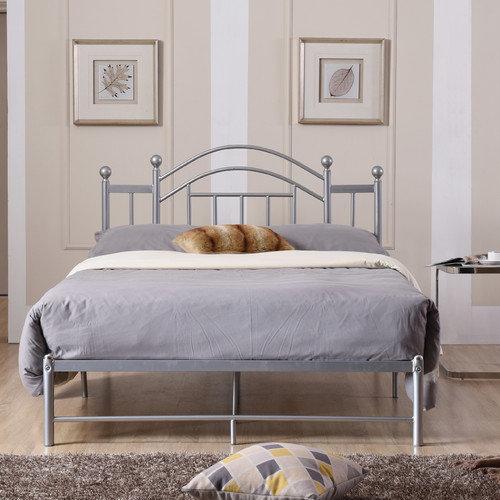 hodedah complete metal bed with headboard, low footboard, slats, Headboard designs