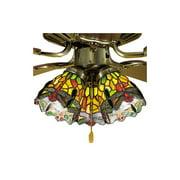 Hanging Head Dragonfly Fan Light Shade