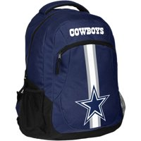 Forever Collectibles NFL Dallas Cowboys Action Stripe Logo Backpack
