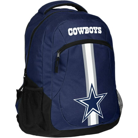 Forever Collectibles NFL Dallas Cowboys Action Stripe Logo Backpack (Dallas Cowboys Stadium)