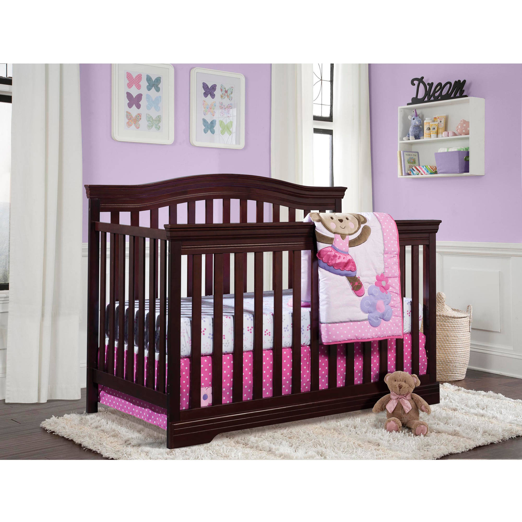 Broyhill Kids Bowen Heights 4-in-1 Convertible Crib, Choose Your Finish