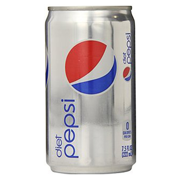 Diet Pepsi 7.5 oz Cans - Pack of 24