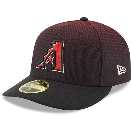Arizona Diamondbacks New Era Game Authentic Collection On Field Low Profile 59FIFTY Fitted Hat - Black Authentic Fitted Hat Game