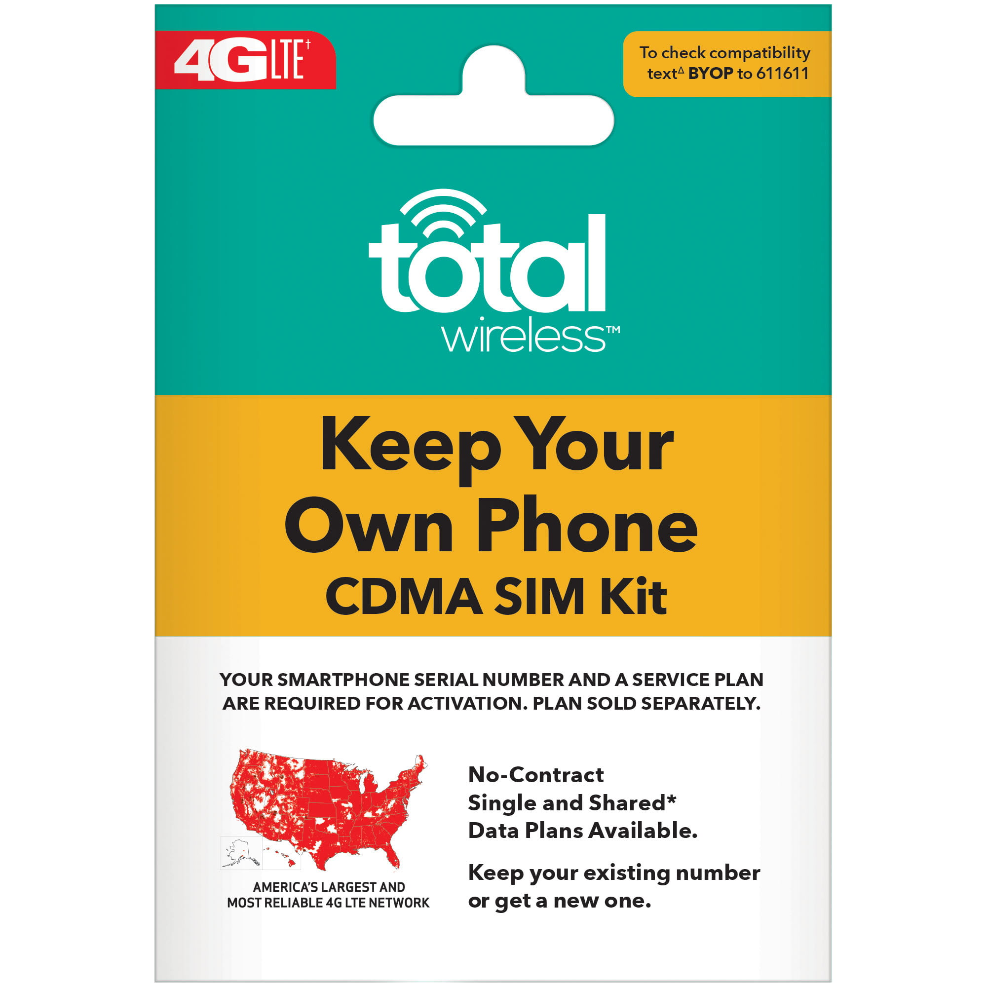 Total Wireless Bring Your Own Phone SIM Kit