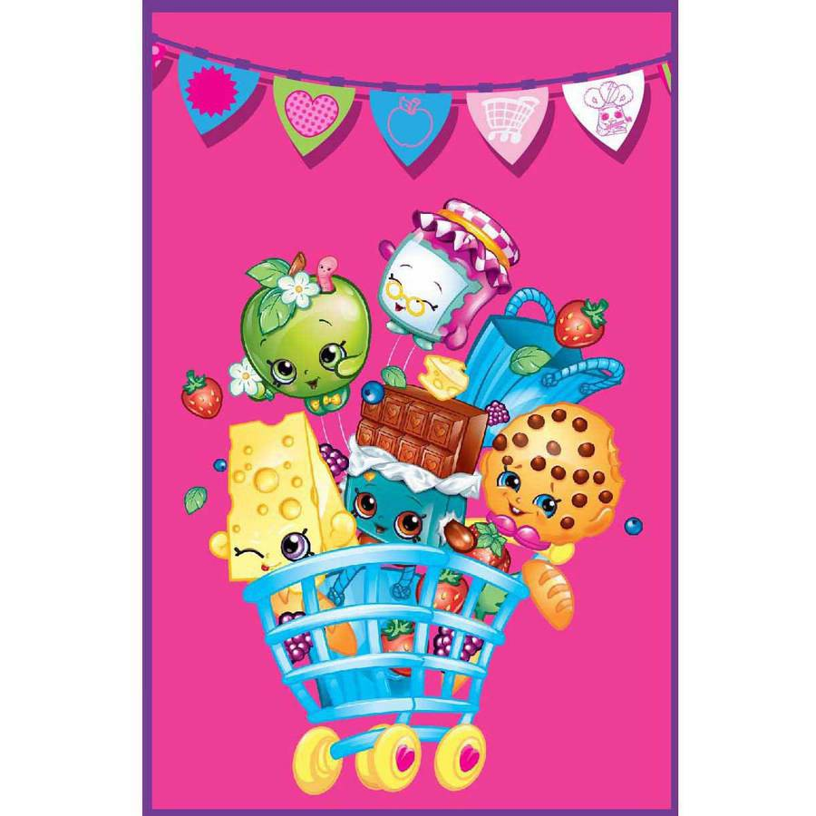 Shopkins Flags Blanket