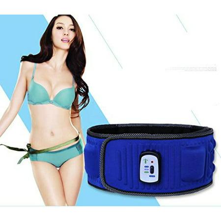 Ab Turbo Pro 5X Vibrating Multi Function Massage and Waist Slimming Fitness Belt