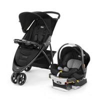 Chicco Viaro Travel System Stroller, Black