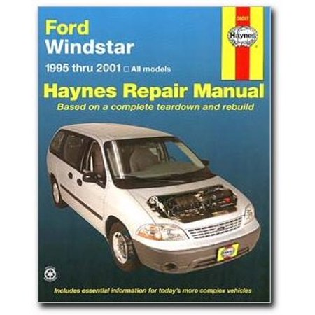 Ford Windstar  Haynes Repair Manual  1995 2001