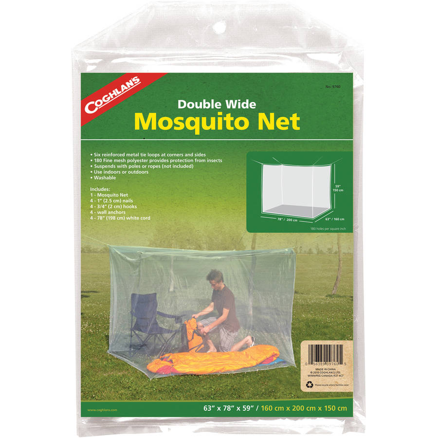 Coghlans Mosquito Net-Double White