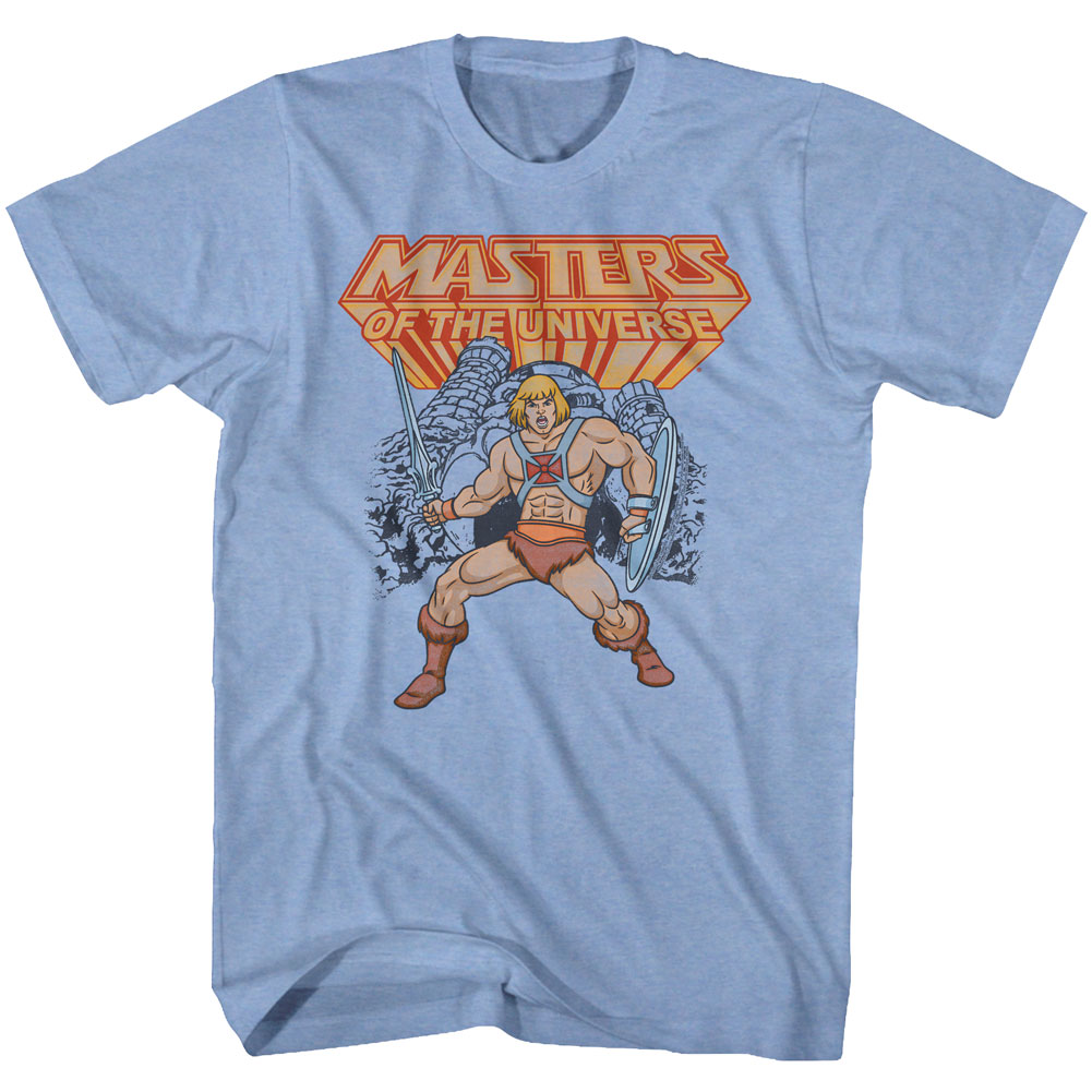 Masters Of The Universe Animated TV He-Man Have The Power Adult Tank T-Shirt