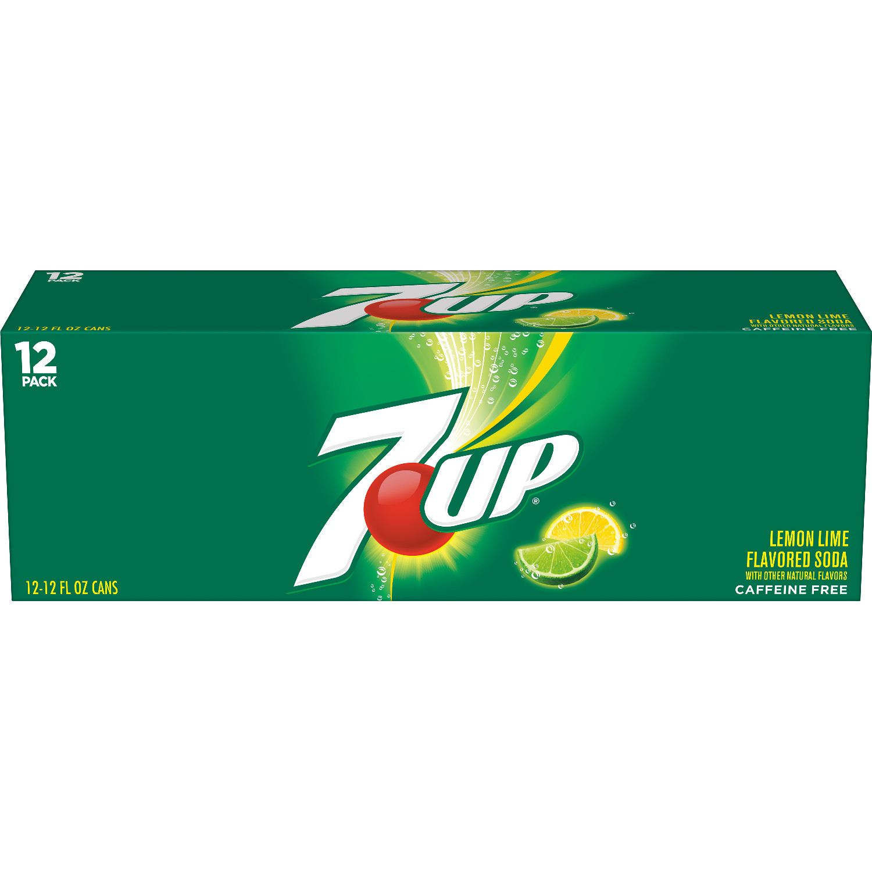 7UP, 12 fl oz, 12 pack