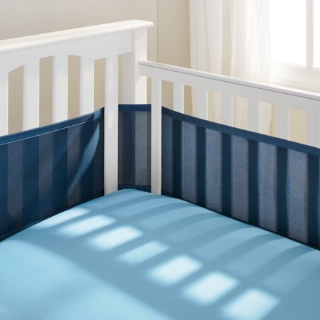 Breathablebaby   Breathable Crib Liner  Fits All Cribs  Choose Your Color
