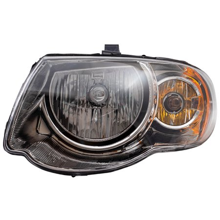 "BROCK Halogen Headlight Headlamp Driver Replacement for 05-07 Chrysler Town & Country Van with 119"" Wheel Base 4857991AD"