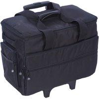 19 Inch Wheeled Sewing Machine Bag 19.25 Inch X 14 Inch X 9 Inch-B